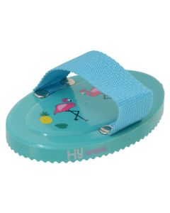 HySHINE Flamingo Curry Comb - Teal/Provence Blue - 12.5cm