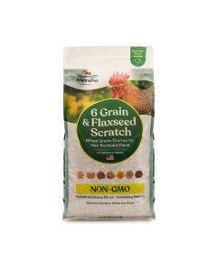 Manna Pro Non-GMO 6 Grain & Flax Scratch