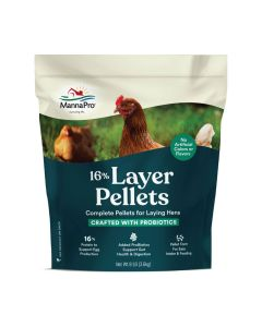 Manna Pro 16% Layer Pellets with Probiotic