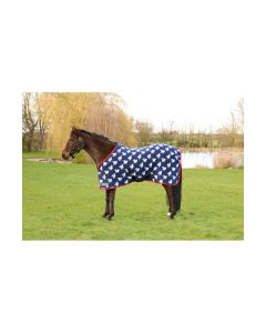 """StormX Original Fleece Rug - Thelwell Collection - Navy/Red/White - 4'0"""""""
