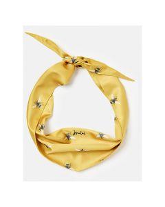 Joules Neckerchief - Gold Bee Print