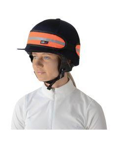 HyVIZ Hat Band - Orange/Black - One Size