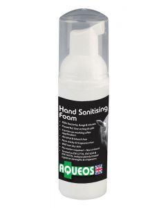 Aqueos Equine Anti-Bacterial Hand Sanitising Foam - 250ml