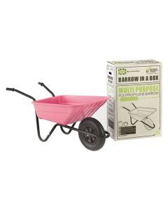 Barrow in a Box - Pink - 90L