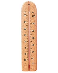 Tildenet Wood Wall Thermometer