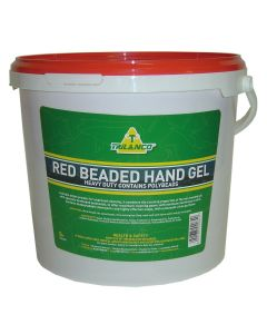 Trilanco Red Beaded Hand Gel - 5L
