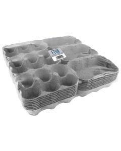 Eton Egg Box Plain - Grey - Pack of 24