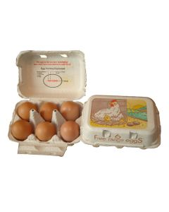 Eton Egg Box Free Range - White - Pack of 260