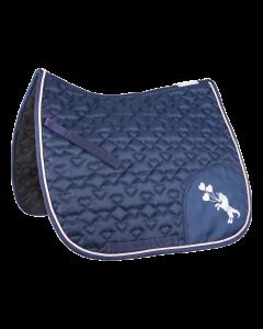 Waldhausen Unicorn Glitter Saddle Pad - Nightblue