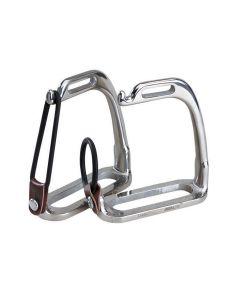 WeatherBeeta Korsteel Stainless Steel Peacock Stirrup Irons