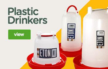 Plastic Poultry Drinkers | Eton drinkers