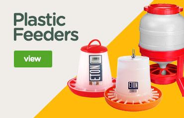 Eton plastic poultry feeders